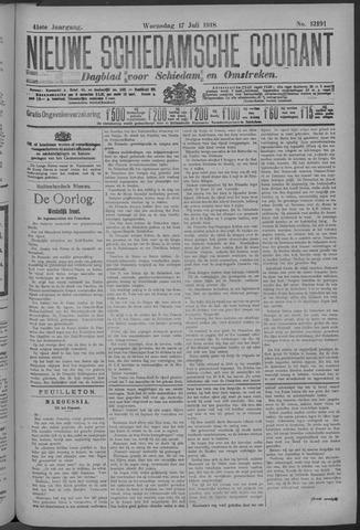 Nieuwe Schiedamsche Courant 1918-07-17