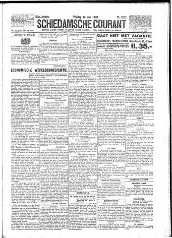 Schiedamsche Courant 1933-07-14