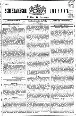 Schiedamsche Courant 1847-08-27