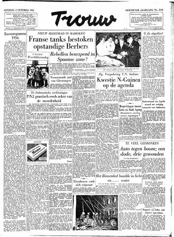 Trouw / De Rotterdammer 1955-10-04