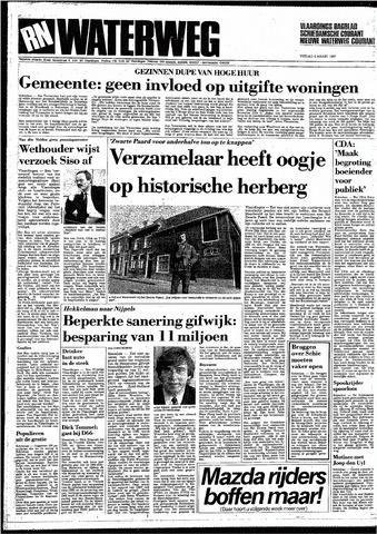 Rotterdamsch Nieuwsblad / Schiedamsche Courant / Rotterdams Dagblad / Waterweg / Algemeen Dagblad 1987-03-06
