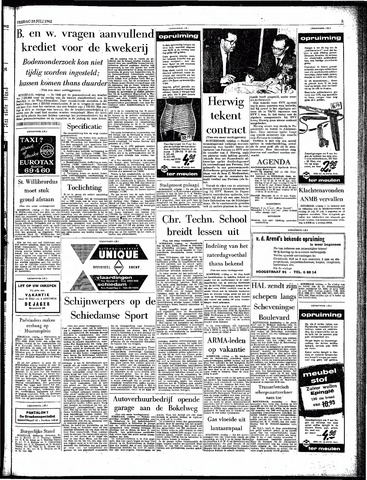 Rotterdamsch Parool / De Schiedammer 1962-07-20