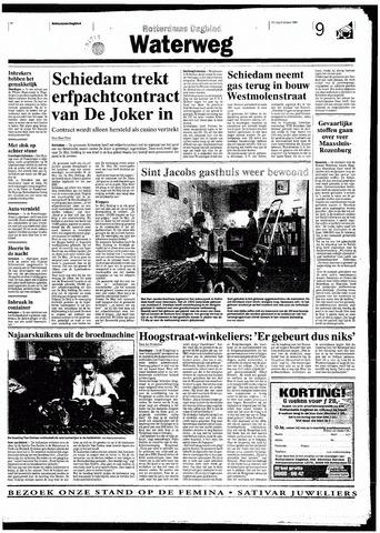 Rotterdamsch Nieuwsblad / Schiedamsche Courant / Rotterdams Dagblad / Waterweg / Algemeen Dagblad 1998-10-09