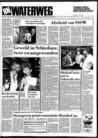 Rotterdamsch Nieuwsblad / Schiedamsche Courant / Rotterdams Dagblad / Waterweg / Algemeen Dagblad 1987-04-27