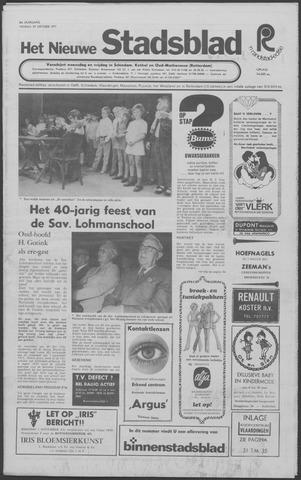 Het Nieuwe Stadsblad 1971-10-29