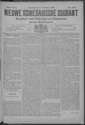 Nieuwe Schiedamsche Courant 1897-02-18
