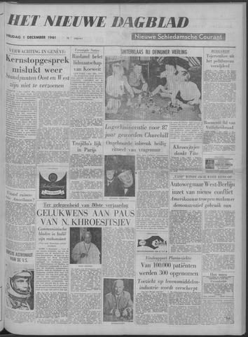 Nieuwe Schiedamsche Courant 1961-12-01