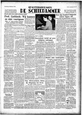 Rotterdamsch Parool / De Schiedammer 1948-02-12