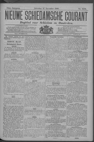 Nieuwe Schiedamsche Courant 1909-11-27
