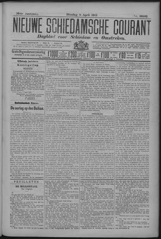 Nieuwe Schiedamsche Courant 1913-04-08