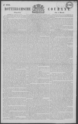 Rotterdamse Courant 1851-03-04