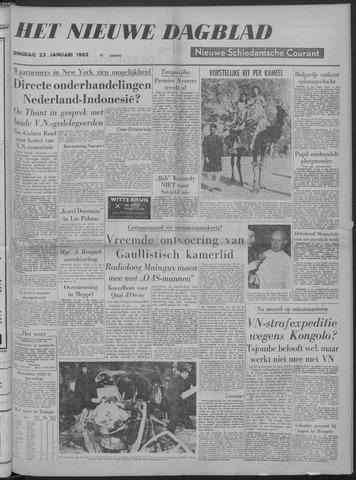 Nieuwe Schiedamsche Courant 1962-01-23
