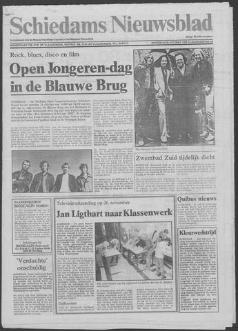 Schiedams Nieuwsblad 1982-10-20