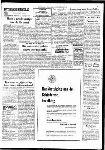 Rotterdamsch Nieuwsblad / Schiedamsche Courant / Rotterdams Dagblad / Waterweg / Algemeen Dagblad 1966-03-08