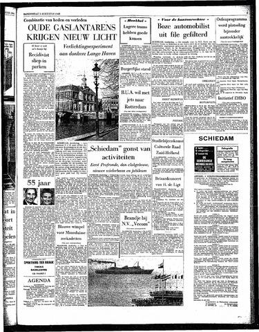 Rotterdamsch Parool / De Schiedammer 1963-08-01