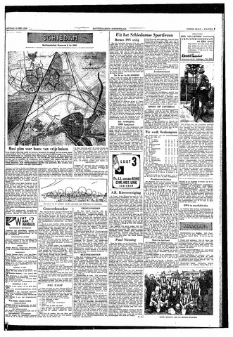 Rotterdamsch Nieuwsblad / Schiedamsche Courant / Rotterdams Dagblad / Waterweg / Algemeen Dagblad 1953-05-15