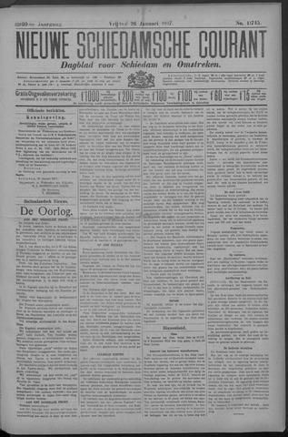 Nieuwe Schiedamsche Courant 1917-01-26