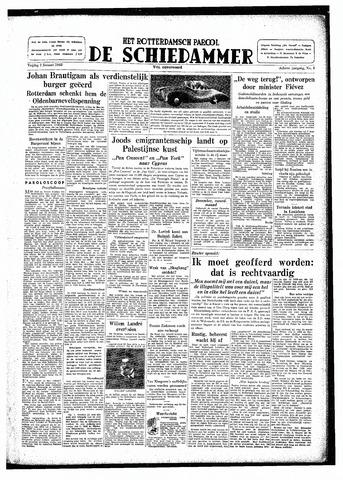 Rotterdamsch Parool / De Schiedammer 1948-01-02