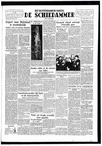 Rotterdamsch Parool / De Schiedammer 1947-10-28