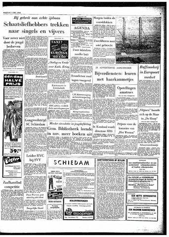 Rotterdamsch Parool / De Schiedammer 1962-12-07