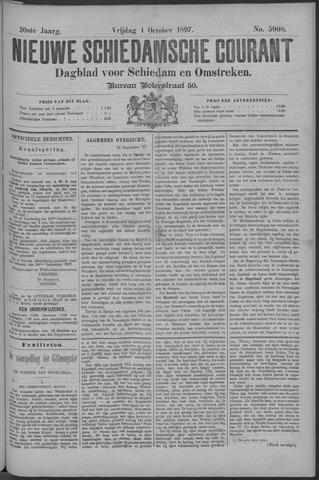 Nieuwe Schiedamsche Courant 1897-10-01