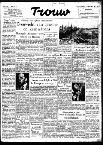 Trouw / De Rotterdammer 1957-05-03