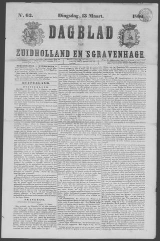 Dagblad van Zuid-Holland 1860-03-13