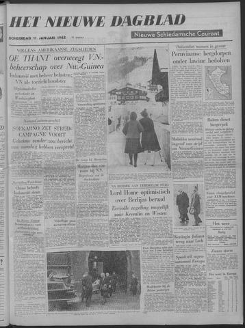 Nieuwe Schiedamsche Courant 1962-01-11