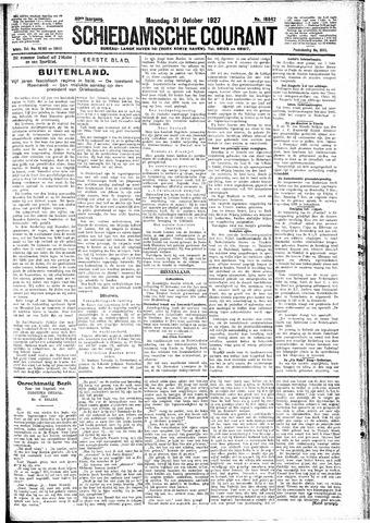 Schiedamsche Courant 1927-10-31