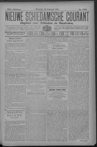 Nieuwe Schiedamsche Courant 1917-02-19
