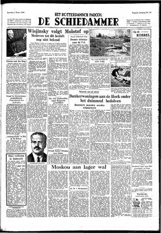 Rotterdamsch Parool / De Schiedammer 1949-03-05