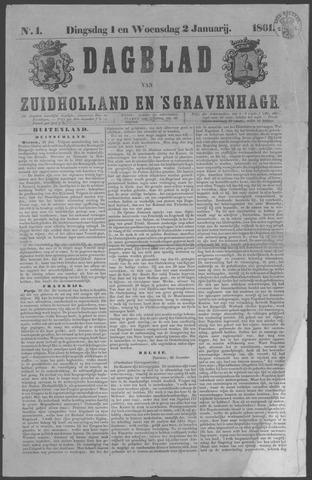 Dagblad van Zuid-Holland 1861