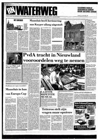 Rotterdamsch Nieuwsblad / Schiedamsche Courant / Rotterdams Dagblad / Waterweg / Algemeen Dagblad 1987-10-23