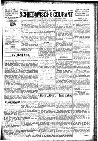 Schiedamsche Courant 1929-05-01