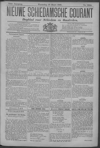 Nieuwe Schiedamsche Courant 1909-03-10