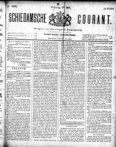 Schiedamsche Courant 1885-07-24