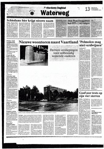 Rotterdamsch Nieuwsblad / Schiedamsche Courant / Rotterdams Dagblad / Waterweg / Algemeen Dagblad 1993-09-29