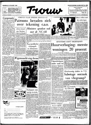 Trouw / De Rotterdammer 1960-03-18
