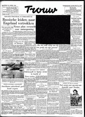 Trouw / De Rotterdammer 1956-04-16