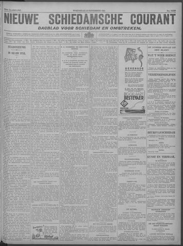Nieuwe Schiedamsche Courant 1929-11-13