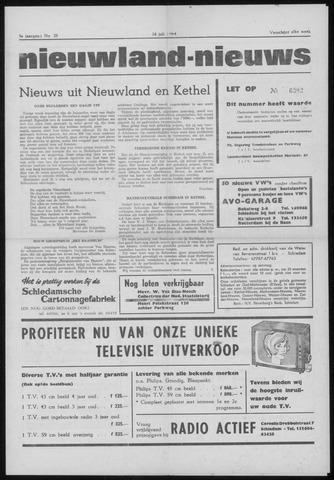 Nieuwland Nieuws 1964-07-16