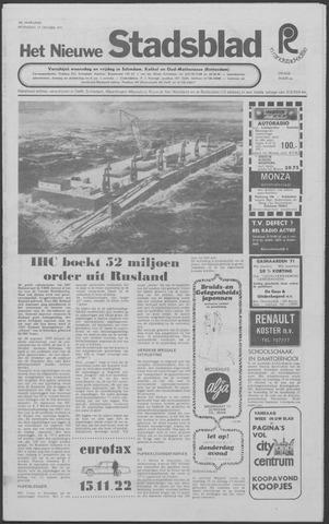 Het Nieuwe Stadsblad 1971-10-13