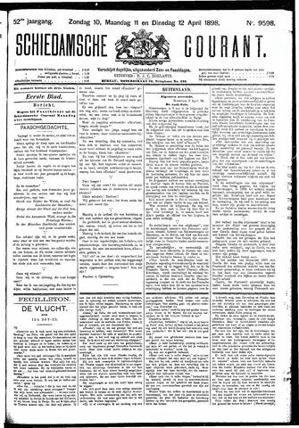 Schiedamsche Courant 1898-04-12