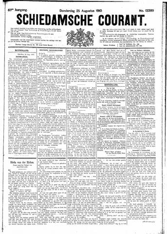 Schiedamsche Courant 1910-08-25