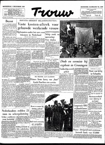 Trouw / De Rotterdammer 1958-12-04