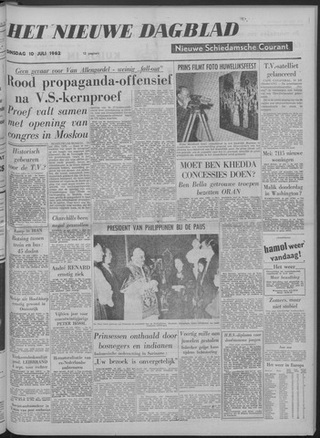 Nieuwe Schiedamsche Courant 1962-07-10
