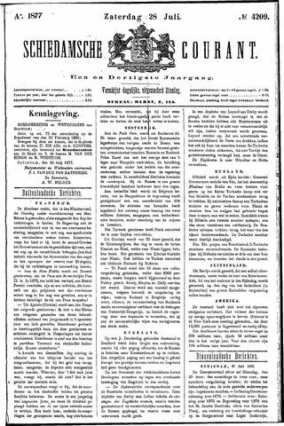 Schiedamsche Courant 1877-07-28