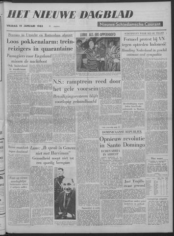 Nieuwe Schiedamsche Courant 1962-01-19