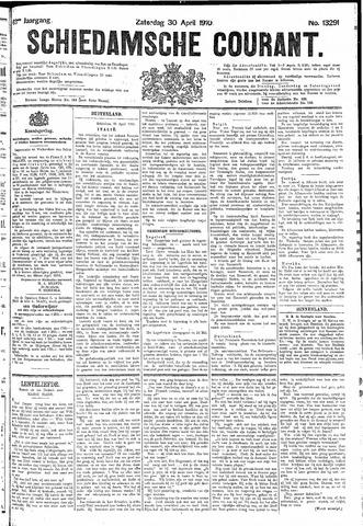 Schiedamsche Courant 1910-04-30