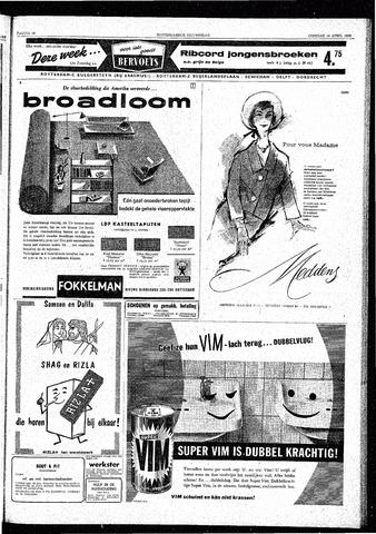Rotterdamsch Nieuwsblad / Schiedamsche Courant / Rotterdams Dagblad / Waterweg / Algemeen Dagblad 1959-04-14